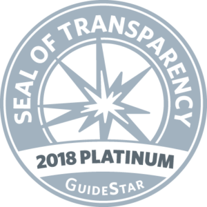 Sello de transparencia GuideStar platinum