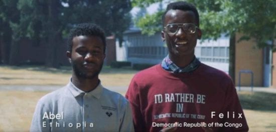 Abel and Felix in their Success in School video