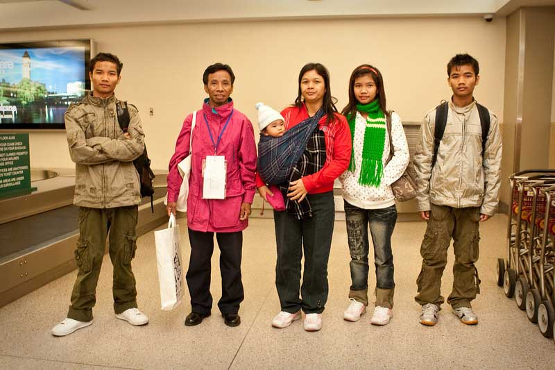 Burmese family in USA