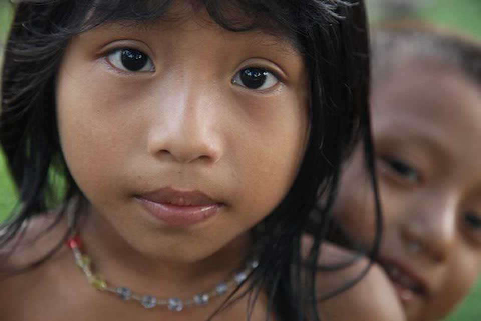 Colombian child