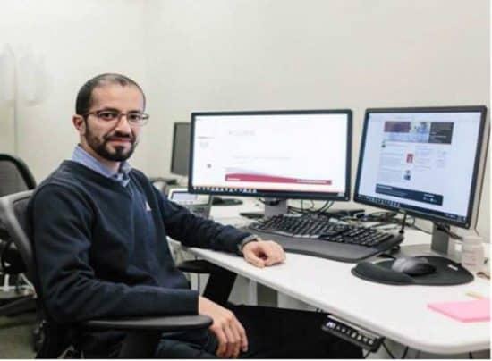 Khaled Turkmani, gerente de proyectos de TI