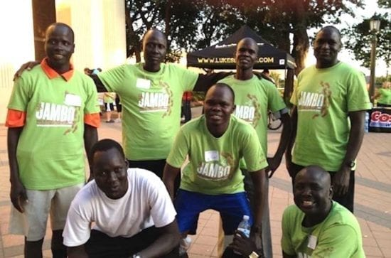The Lost Boys from South Sudan, now Americans