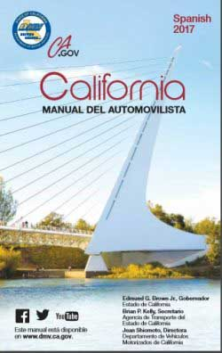 The driver's manual in Spanish