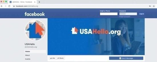 Welcome to the USAHello facebook page!