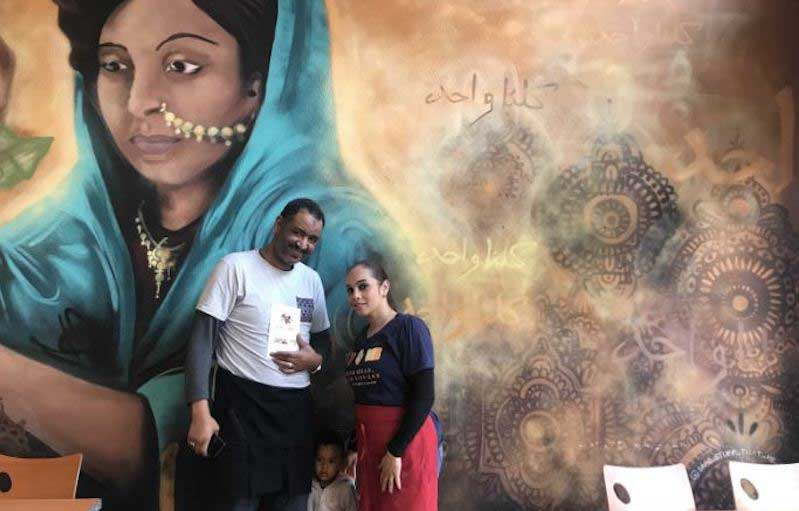 Owners of ZZoul Sudanese food cafe