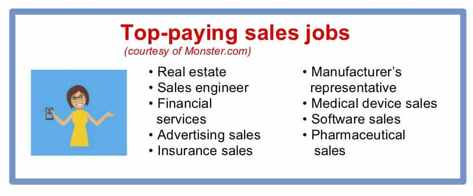 top paying sales jobs