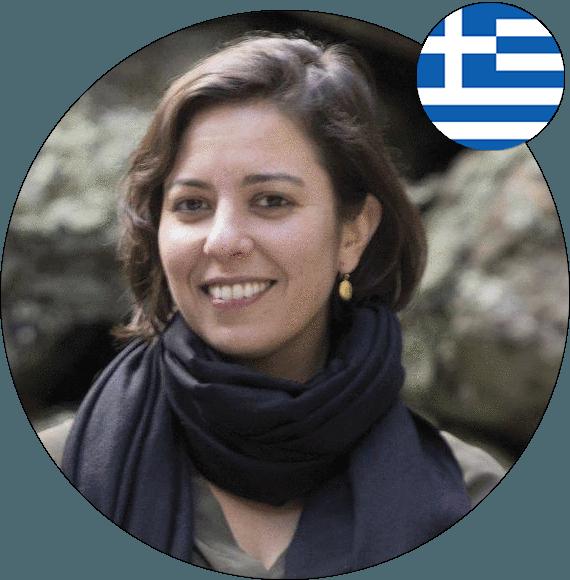 Headshot of Ariadne Papagapitos