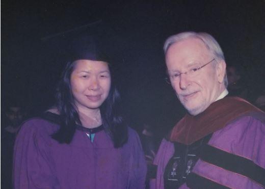Jeanna Lui at graduation