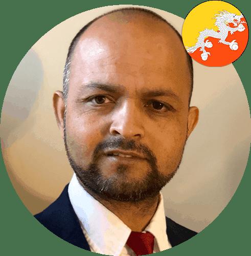Portrait of Bhuwan Gautam