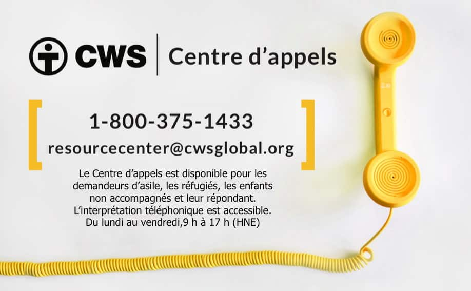 CWS call center panel French